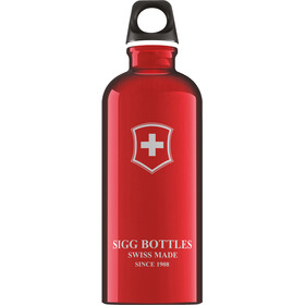 Sigg Traveller Alutrinkflasche 0,6l swiss red